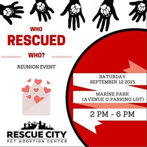 who rescued who event